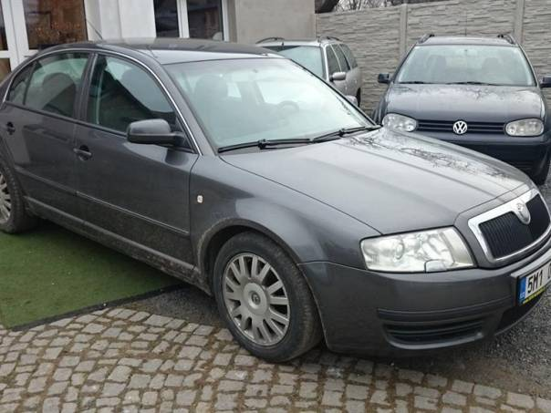 Škoda Superb 1.9TDi,96kW, foto 1 Auto – moto , Automobily | spěcháto.cz - bazar, inzerce zdarma
