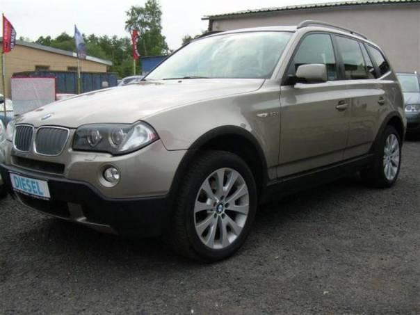 BMW X3 3.0d 4x4 serviska xenony panorama, foto 1 Auto – moto , Automobily | spěcháto.cz - bazar, inzerce zdarma