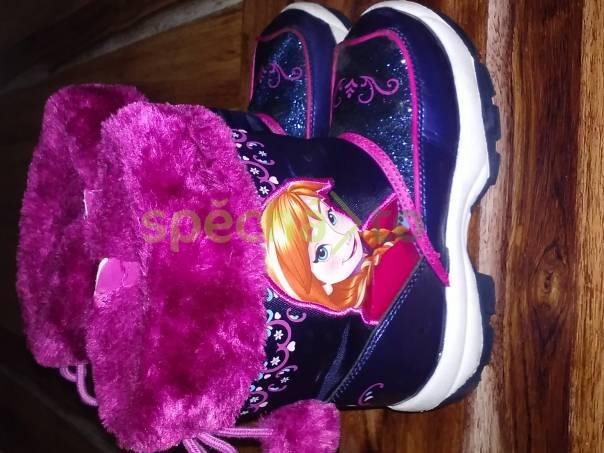 prodám zimní botičky Frozen a gumové holinky Hello Kitty  d60a0fa53b
