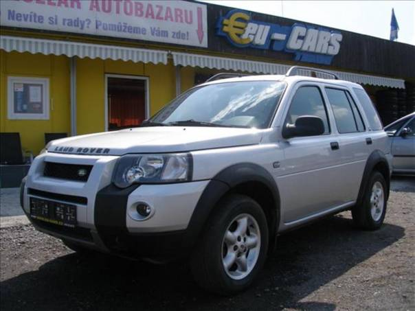 Land Rover Freelander 1,8   ,4x4,TOP STAV, foto 1 Auto – moto , Automobily | spěcháto.cz - bazar, inzerce zdarma