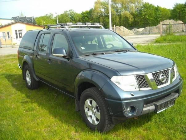 Nissan Navara Double Cab 2.5 Di Odpočet DPH, foto 1 Auto – moto , Automobily | spěcháto.cz - bazar, inzerce zdarma