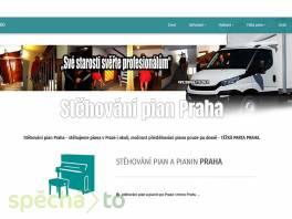 Levné stěhování pian Praha - Těžká parta Praha , Obchod a služby, Přeprava, stěhování  | spěcháto.cz - bazar, inzerce zdarma