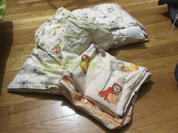 Dětská souprava do postýlky, foto 1 Pro děti, Dětské oblečení  | spěcháto.cz - bazar, inzerce zdarma