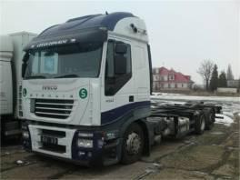Iveco Stralis BDF - nosič výměnných nástaveb/kontejnerů EURO 5