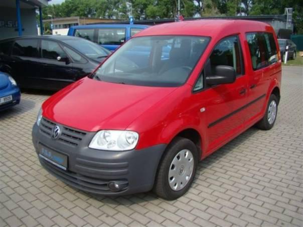 Volkswagen Caddy LIFE 1,9TDI 77kW klima servisk, foto 1 Auto – moto , Automobily | spěcháto.cz - bazar, inzerce zdarma