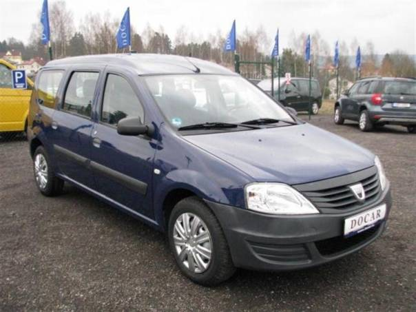 Dacia Logan MCV 1.4i, TOP stav, foto 1 Auto – moto , Automobily | spěcháto.cz - bazar, inzerce zdarma