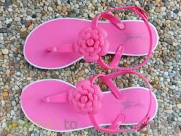 Krásné gumové sandálky, vel. 35 , Pro děti, Dětská obuv   | spěcháto.cz - bazar, inzerce zdarma