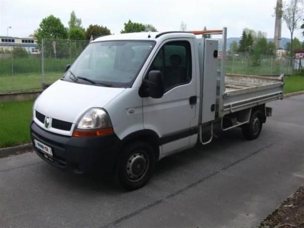 Renault Master 2.5DCI Valník sklápěč, foto 1 Užitkové a nákladní vozy, Do 7,5 t   spěcháto.cz - bazar, inzerce zdarma