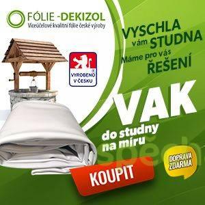 Výroba flexi vaku Dekizol do studny, foto 1 Zahrada, zahradní příslušenství, Nářádí a stroje   spěcháto.cz - bazar, inzerce zdarma