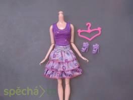 NOVÉ! Set pro panenku Barbie, tričko+sukýnka+boty+ram , Pro děti, Hračky    spěcháto.cz - bazar, inzerce zdarma