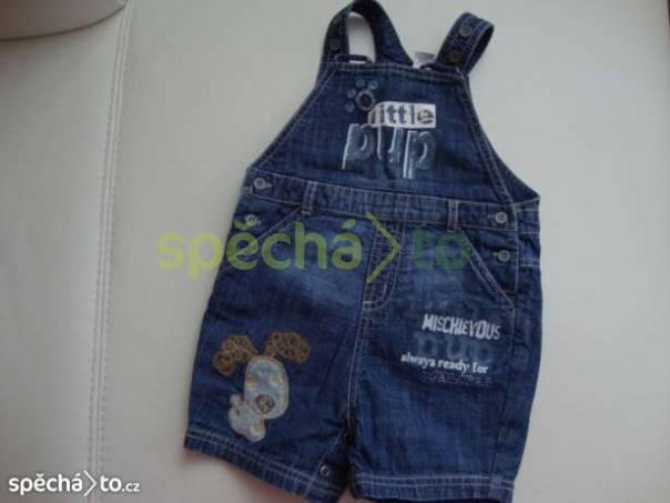 riflové kraťasy s laclem, foto 1 Pro děti, Dětské oblečení  | spěcháto.cz - bazar, inzerce zdarma