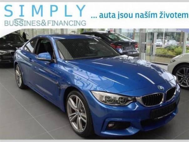 BMW  420d Mpaket, Navi, Estorial blue LED světla, foto 1 Auto – moto , Automobily | spěcháto.cz - bazar, inzerce zdarma