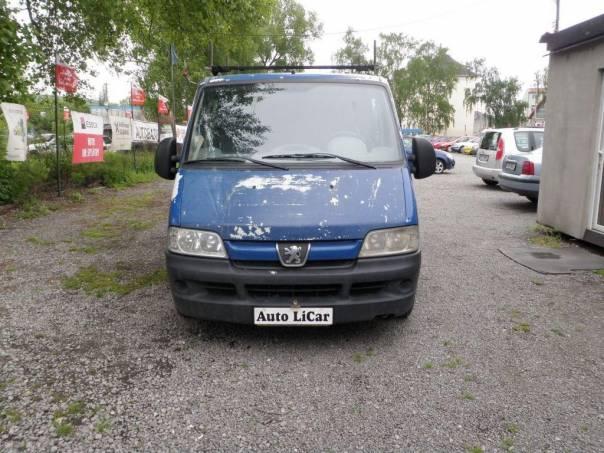 Peugeot Boxer 2.0HDi 6mist TZ LiCar.cz, foto 1 Užitkové a nákladní vozy, Do 7,5 t | spěcháto.cz - bazar, inzerce zdarma