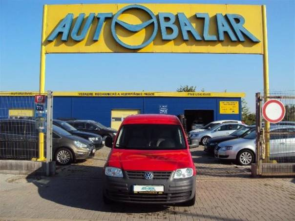 Volkswagen Caddy 2.0 SDI 51kw1.MAJ.,SERVISKA ,CZ PŮV, foto 1 Užitkové a nákladní vozy, Do 7,5 t | spěcháto.cz - bazar, inzerce zdarma