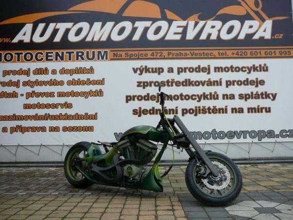 Harley-Davidson  Individuální stavba, foto 1 Auto – moto , Motocykly a čtyřkolky | spěcháto.cz - bazar, inzerce zdarma