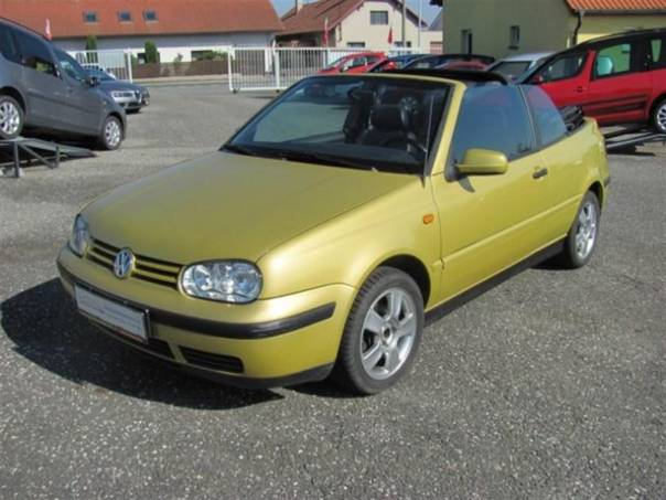 Volkswagen Golf 1.6 cabrio, klima TOP stav, foto 1 Auto – moto , Automobily | spěcháto.cz - bazar, inzerce zdarma