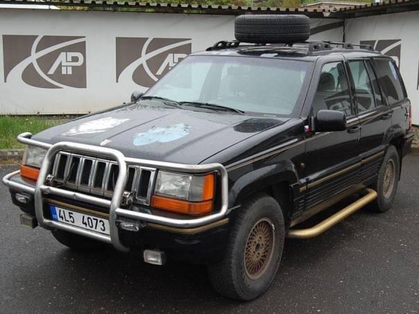 Jeep Grand Cherokee 4.0I, 4WD, LPG, foto 1 Auto – moto , Automobily | spěcháto.cz - bazar, inzerce zdarma