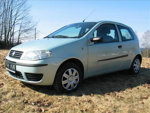 Fiat Punto 1,2 VELMI DOBRÝ STAV   DYNAMIC, foto 1 Auto – moto , Automobily | spěcháto.cz - bazar, inzerce zdarma