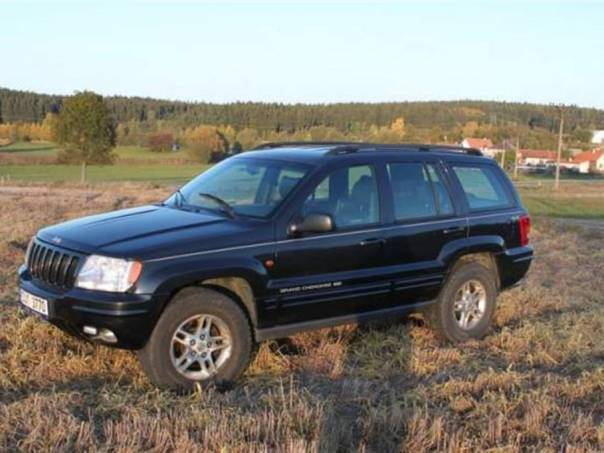 Jeep Grand Cherokee 4.7 V8 Limited, foto 1 Auto – moto , Automobily | spěcháto.cz - bazar, inzerce zdarma