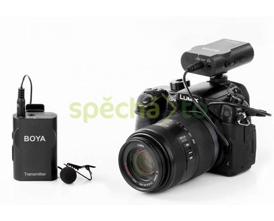 Bezdrátový klopový mikrofon k foto či mobilu, foto 1 Fotoaparáty a kamery, Fotoaparáty, zrcadlovky | spěcháto.cz - bazar, inzerce zdarma