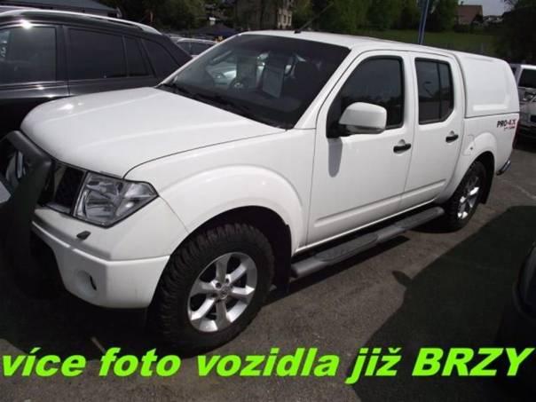 Nissan Navara 2,5 DCi  4WD *servis.kn. *, foto 1 Auto – moto , Automobily | spěcháto.cz - bazar, inzerce zdarma