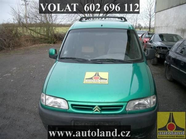 Citroën Berlingo VOLAT, foto 1 Náhradní díly a příslušenství, Ostatní | spěcháto.cz - bazar, inzerce zdarma