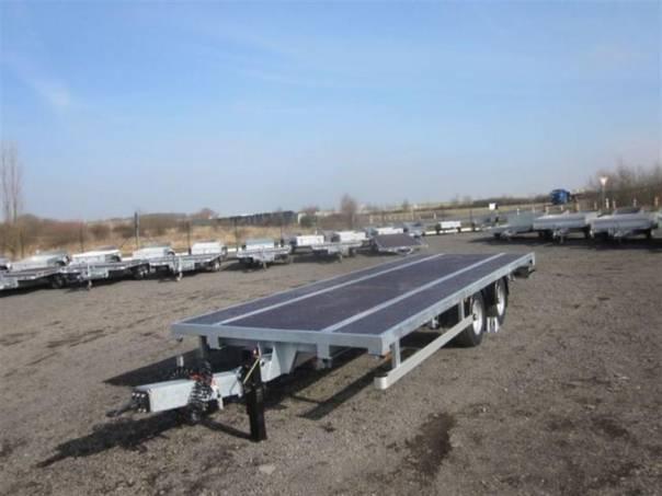 AVG B2 10,9t 7,40/2,48 plato, foto 1 Užitkové a nákladní vozy, Přívěsy a návěsy | spěcháto.cz - bazar, inzerce zdarma