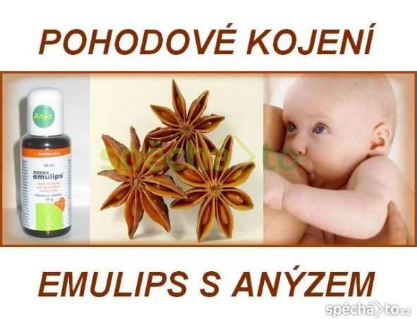 Pohodové kojení a zdravé hubnutí s Emulipsem anýz, foto 1 Pro děti, Zdraví a hygiena | spěcháto.cz - bazar, inzerce zdarma