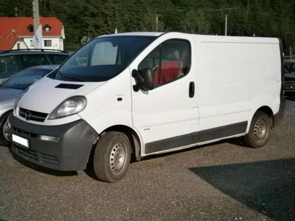 Opel Vivaro Van 1,9Di 60 kW L1H1, foto 1 Užitkové a nákladní vozy, Do 7,5 t | spěcháto.cz - bazar, inzerce zdarma