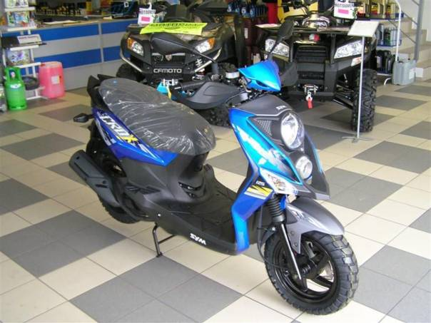 SYM  CROX 125, foto 1 Auto – moto , Motocykly a čtyřkolky | spěcháto.cz - bazar, inzerce zdarma
