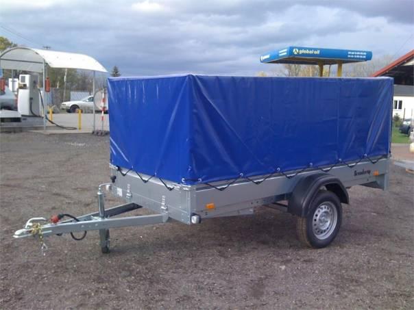 Přívěsný vozík THULE 270x128 s plachtou ---AKCE---, foto 1 Užitkové a nákladní vozy, Přívěsy a návěsy | spěcháto.cz - bazar, inzerce zdarma