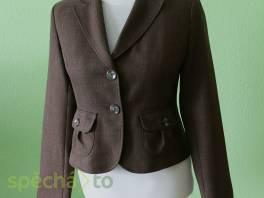 Nové hnědé krátké dámské sako Orsay vel.42 , Dámské oděvy, Bundy, kabáty    spěcháto.cz - bazar, inzerce zdarma