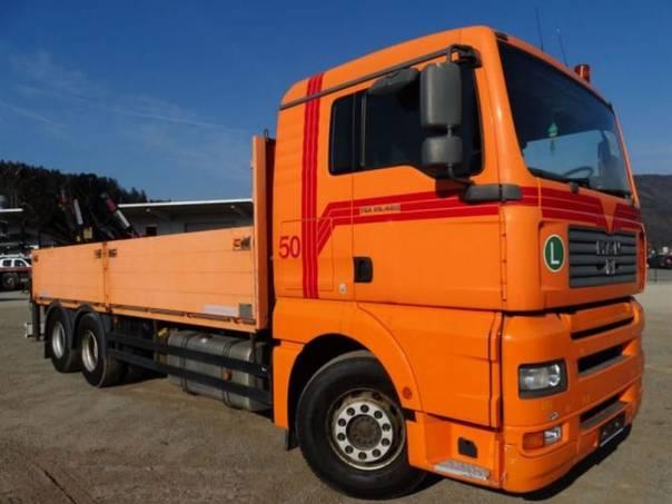 MAN  TGA 26.480 6x4, hydr.ruka, foto 1 Užitkové a nákladní vozy, Nad 7,5 t | spěcháto.cz - bazar, inzerce zdarma