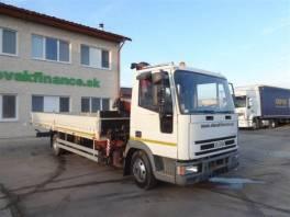 EUROCARGO ML 80E14 valník s hydraulickou rukou, EU
