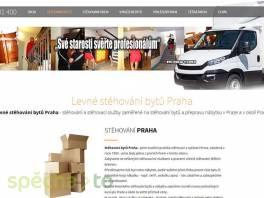 Stěhování bytů a domácností Praha , Obchod a služby, Přeprava, stěhování  | spěcháto.cz - bazar, inzerce zdarma