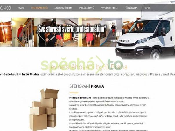 Stěhování bytů a domácností Praha, foto 1 Obchod a služby, Přeprava, stěhování | spěcháto.cz - bazar, inzerce zdarma