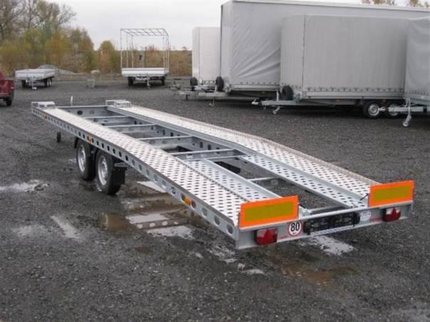 ATLV 3,5T - přepravník 2ks aut, foto 1 Užitkové a nákladní vozy, Přívěsy a návěsy | spěcháto.cz - bazar, inzerce zdarma