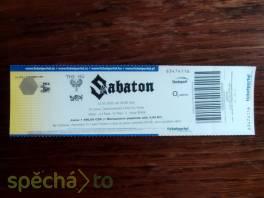 Koncert SABATON 12.3.2022  , Hobby, volný čas, Hudba  | spěcháto.cz - bazar, inzerce zdarma