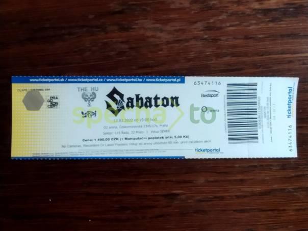 Koncert SABATON 12.3.2022 , foto 1 Hobby, volný čas, Hudba | spěcháto.cz - bazar, inzerce zdarma