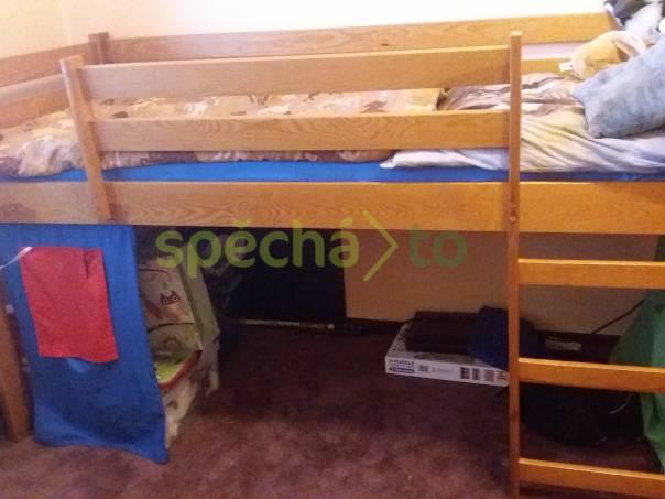 Patrová postel se skluzavkou, foto 1 Pro děti, Dětský nábytek | spěcháto.cz - bazar, inzerce zdarma