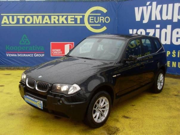 BMW X3 3.0D 150KW, foto 1 Auto – moto , Automobily | spěcháto.cz - bazar, inzerce zdarma