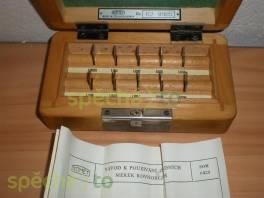 Základní koncové měrky 1,0005-1,009 mm, Somet