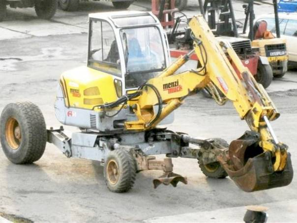 Menzi Muck  A51 mobil EKO 5.4t, foto 1 Pracovní a zemědělské stroje, Pracovní stroje | spěcháto.cz - bazar, inzerce zdarma