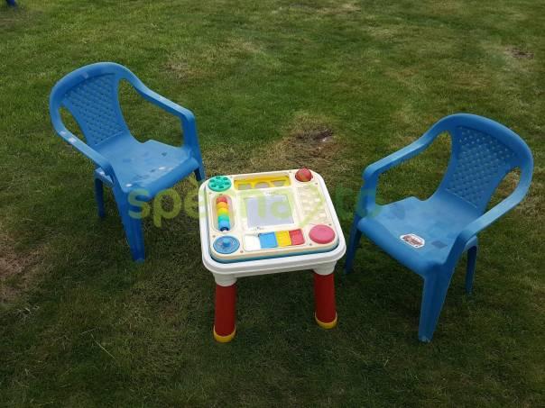 Prodám stolek a židle, foto 1 Pro děti, Hračky   spěcháto.cz - bazar, inzerce zdarma