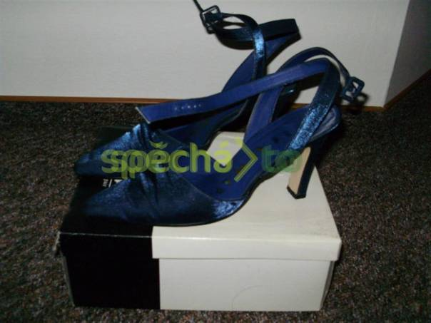6f7e0e26d7c Modré taneční boty vel. 39