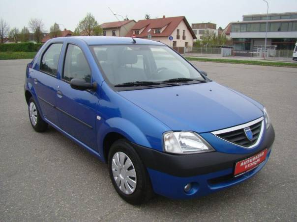 Dacia Logan 1.6i klima, nové rozvody,servisní k, foto 1 Auto – moto , Automobily | spěcháto.cz - bazar, inzerce zdarma