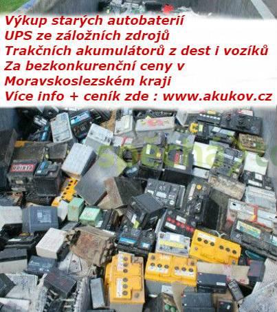 Výkup starých UPS akumulátorů Ostrava, foto 1 Bílé zboží, Pračky, sušičky | spěcháto.cz - bazar, inzerce zdarma