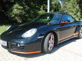 Porsche Cayman 3,4 TOP - SERVISNÍ KNIHA
