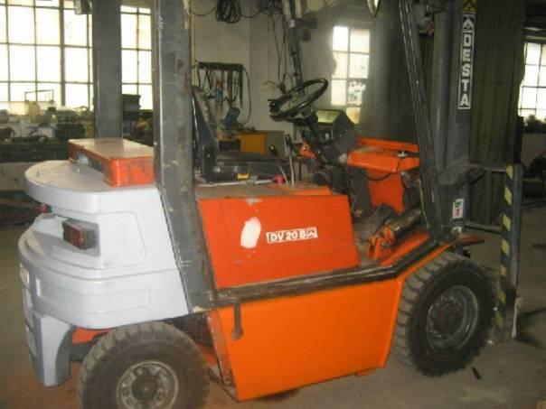 Destas  , foto 1 Pracovní a zemědělské stroje, Vysokozdvižné vozíky | spěcháto.cz - bazar, inzerce zdarma