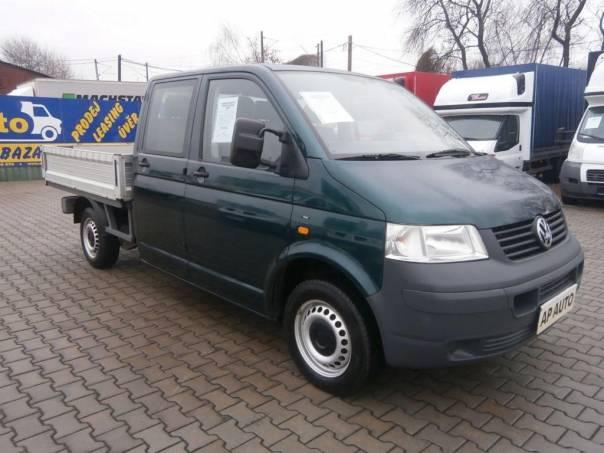 Volkswagen Transporter T5 2.5TDI DVOJKABINA VALNÍK KLIMA, foto 1 Užitkové a nákladní vozy, Do 7,5 t | spěcháto.cz - bazar, inzerce zdarma